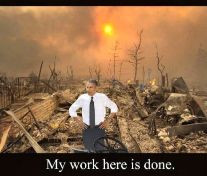 Obama work is done